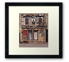 Edinburgh Fenestration Framed Print