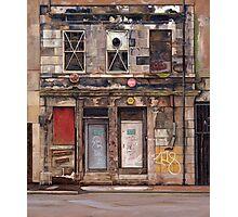 Edinburgh Fenestration Photographic Print