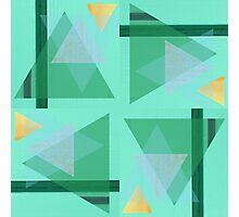 Geometric 1 Photographic Print