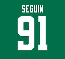 Dallas Stars Tyler Seguin Jersey Back Phone Case by Russ Jericho