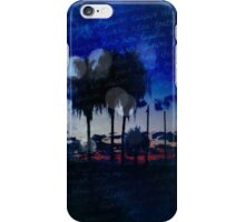 Palm Trees Landscape iPhone Case/Skin