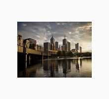 Dawn on yesterday's tomorrow - Sunrise, Southbank Melbourne Unisex T-Shirt