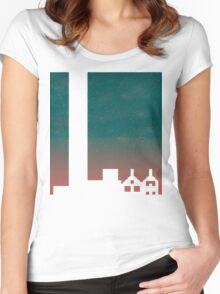 Achievement City Women's Fitted Scoop T-Shirt
