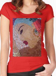 DEP GAI Women's Fitted Scoop T-Shirt