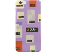 Station to Station iPhone Case/Skin