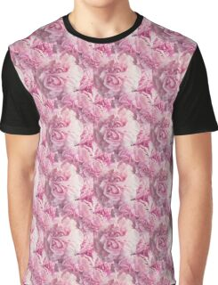 Natural Blooming Flowers - Pink Carnations Graphic T-Shirt