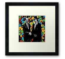 Mmmm I'm all shook up! Framed Print