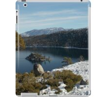 Vikingsholm in the Winter iPad Case/Skin