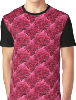 Natural Blooming Flowers - Pink Celosias Graphic T-Shirt