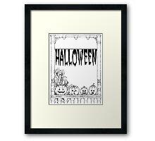 Halloweenn Framed Print