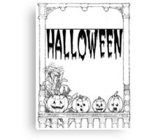Halloweenn Canvas Print