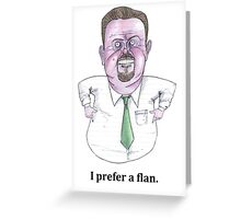 David Brent Greeting Card