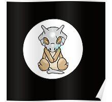 Cubone Sleeping Pokémon Poster
