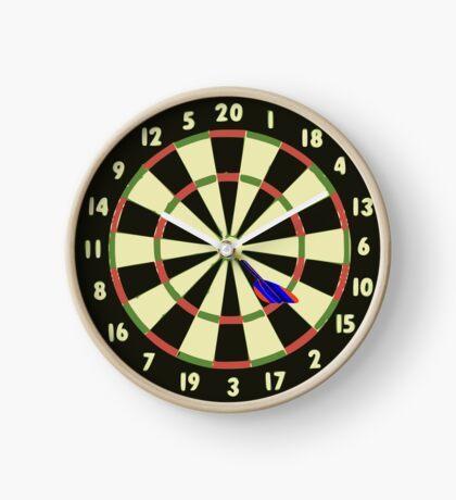 Dart Board Clock