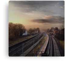 Earlswood Station, Redhill, Surrey Canvas Print