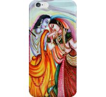 Krishna and Radha iPhone Case/Skin