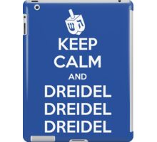 Keep Calm and Dreidel iPad Case/Skin