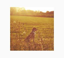 A Dog in a Field Unisex T-Shirt