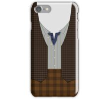 Pastrami on rye with a sour pickle! iPhone Case/Skin