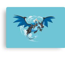 Master of Dragons Canvas Print