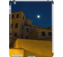 Magical Rome, Italy - Yellow Facades and Moonlight iPad Case/Skin