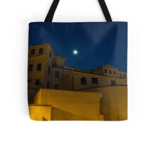 Magical Rome, Italy - Yellow Facades and Moonlight Tote Bag
