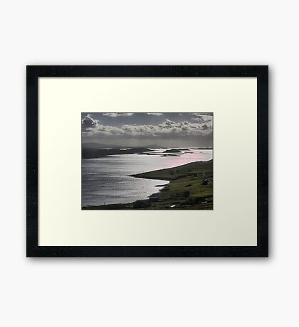 Jewels in the Viking Crown Framed Print