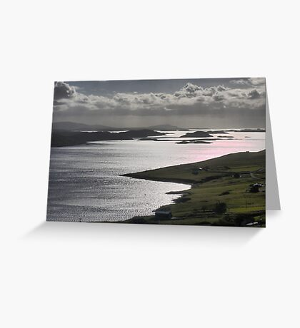 Jewels in the Viking Crown Greeting Card