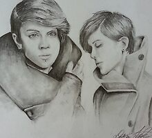 Tegan and Sara Sketch by Dominic LaBonia