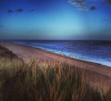 Norfolk Coast - Sea Palling  by AngieSurrey