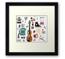 Pieces of me - 3rd grade Framed Print
