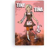 Tiny Tina Canvas Print