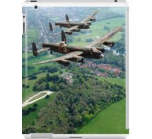 Two Lancasters over West Wycombe iPad Case/Skin