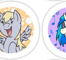 Sticker Badges - My Little Pony Secondaries! Sticker