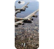 Two Lancasters over London iPhone Case/Skin