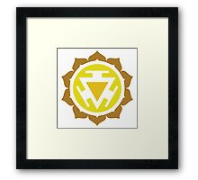 Manipura: The Solar Plexus Chakra Framed Print