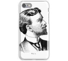 Portrait 5 - Pen & Ink iPhone Case/Skin