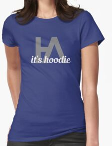 Simplistic Hoodie Allen Design Womens Fitted T-Shirt