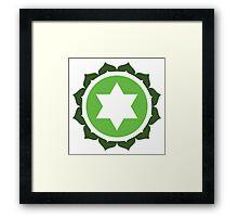 Anahata: The Heart Chakra Framed Print