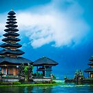 Pura uran Danu Brutan - The floating temple  by AzureSky