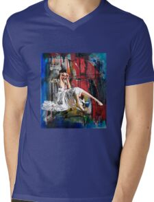 FALL FROM GRACE 2 Mens V-Neck T-Shirt