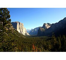 The Picturesque Yosemite Valley Photographic Print