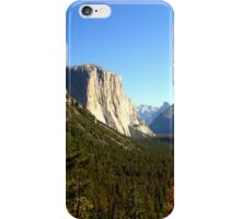 The Picturesque Yosemite Valley iPhone Case/Skin