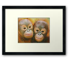 Rocky and Rickina Framed Print