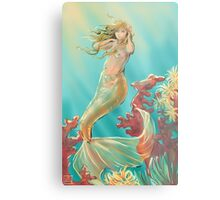 Mermaid Krista Metal Print
