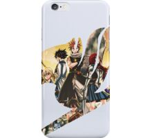 fairy tail crew iPhone Case/Skin
