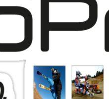 gopro 2 Sticker