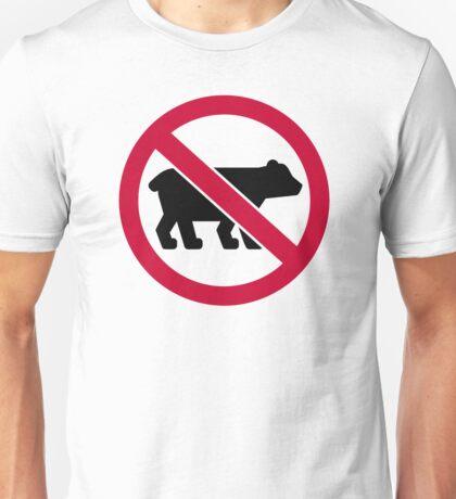 No bears Unisex T-Shirt