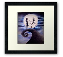 Nightmare Before Christmas Framed Print