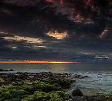 Stormy Sunset by robcaddy